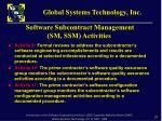 software subcontract management sm ssm activities2