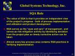 sqa role