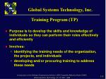 training program tp