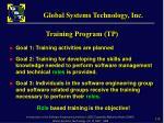 training program tp2