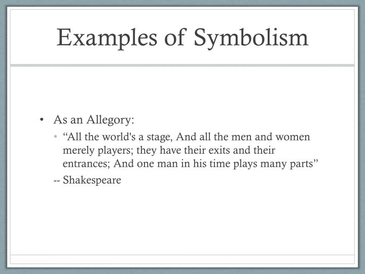 Ppt Symbolism And Imagery Powerpoint Presentation Id5466557