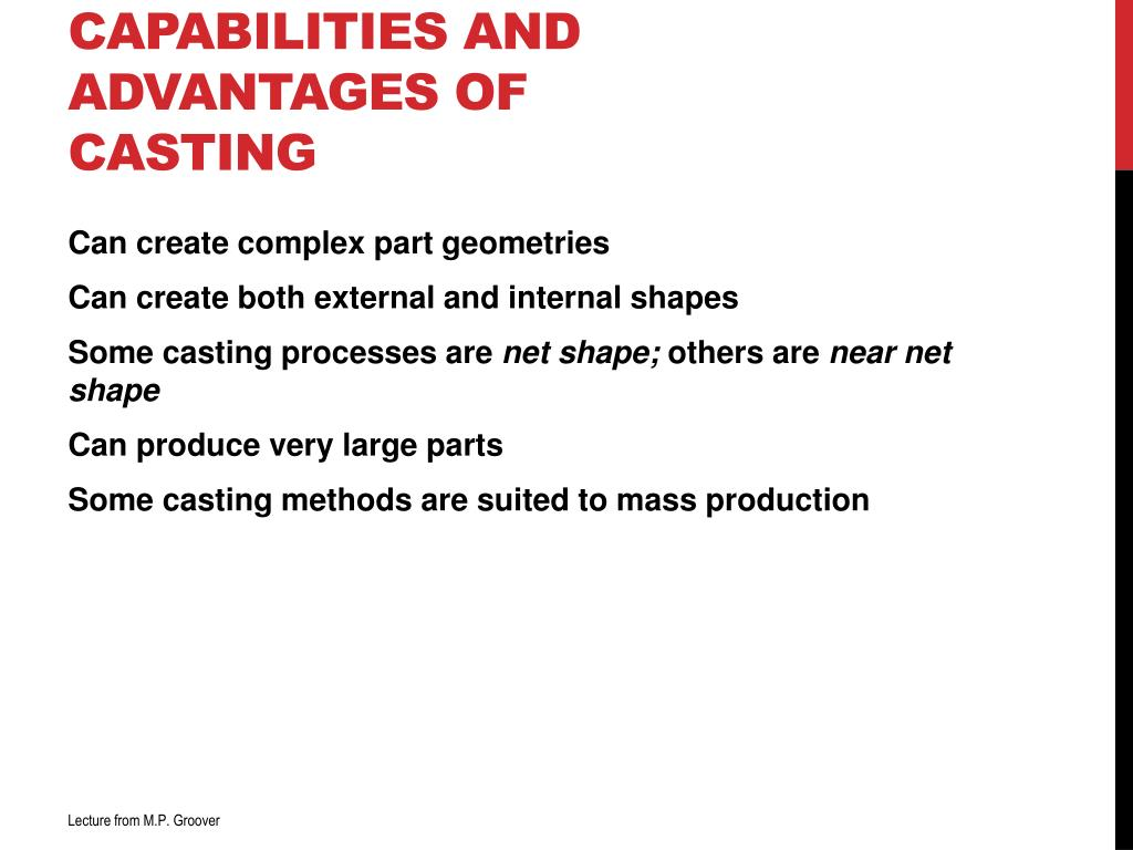 PPT - FUNDAMENTALS OF METAL CASTING PowerPoint Presentation