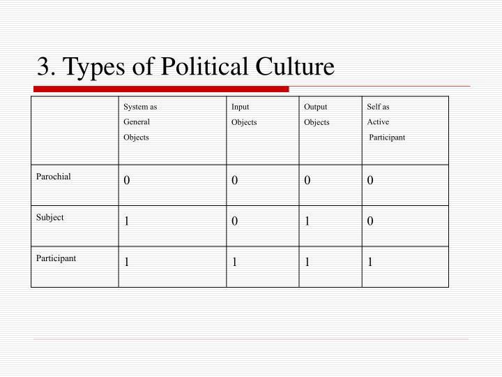 participant political culture