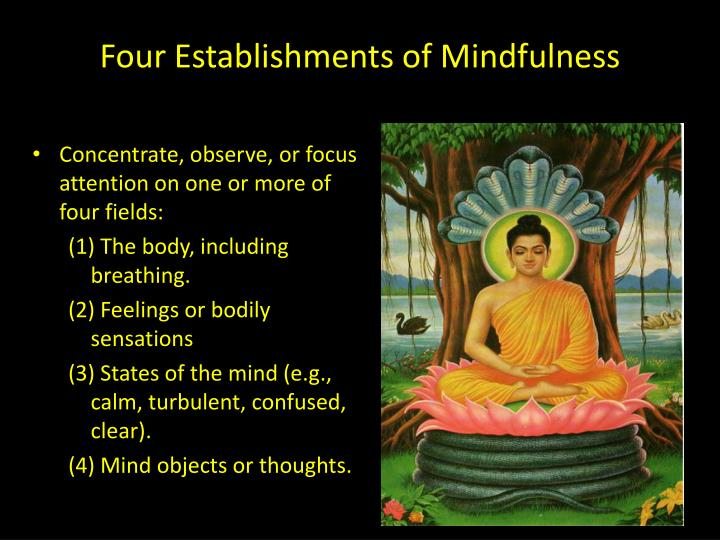 Four Establishments of Mindfulness