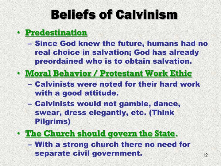 5 Points of Calvinism - TULIP by jlel ...