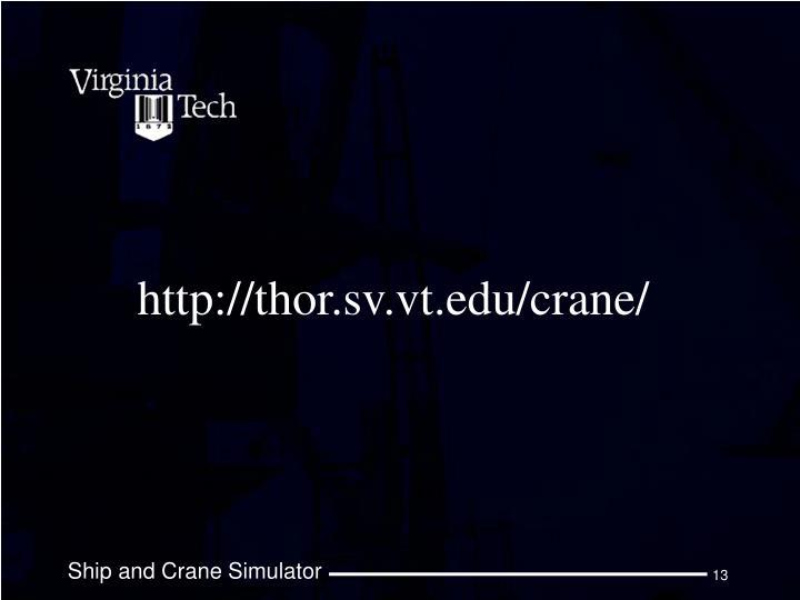 http://thor.sv.vt.edu/crane/