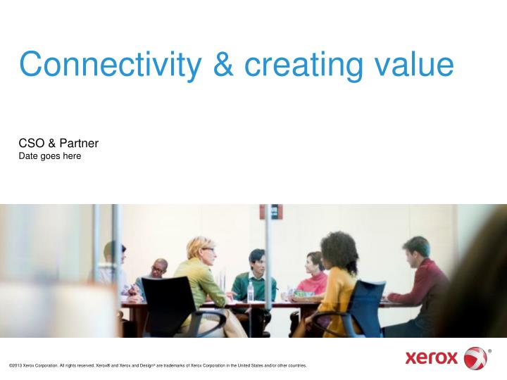 connectivity creating value n.