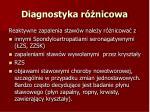 diagnostyka r nicowa