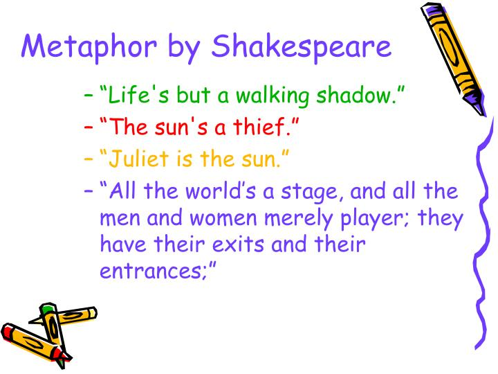 Metaphor by Shakespeare
