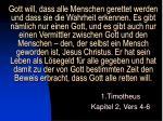 1 timotheus kapitel 2 vers 4 6