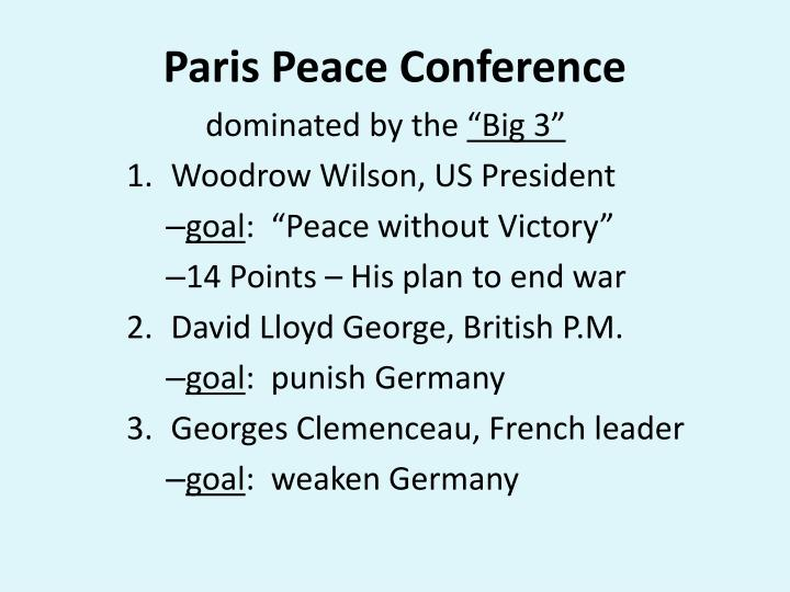 PPT - The End of WWI PowerPoint Presentation - ID:5467825