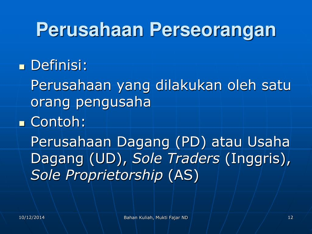 PPT - HUKUM PERUSAHAAN PowerPoint Presentation - ID:5467902