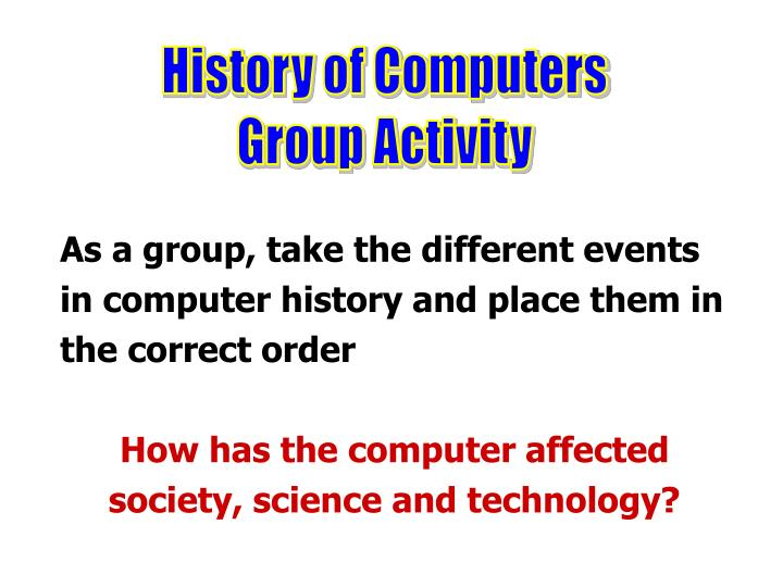how computers have affected society