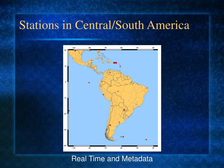 Stations in Central/South America