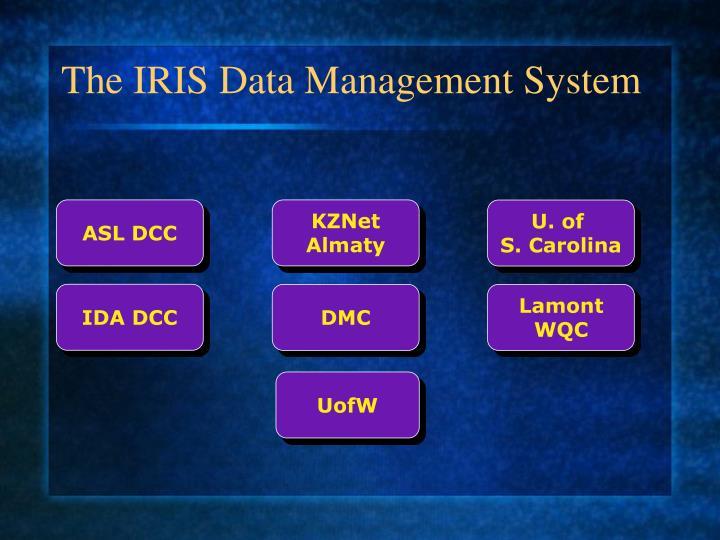 The iris data management system