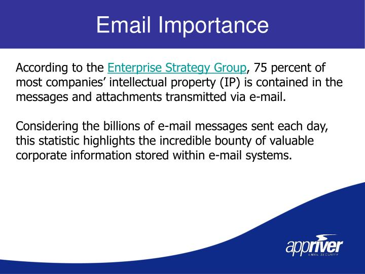 Email Importance
