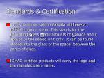 standards certification2