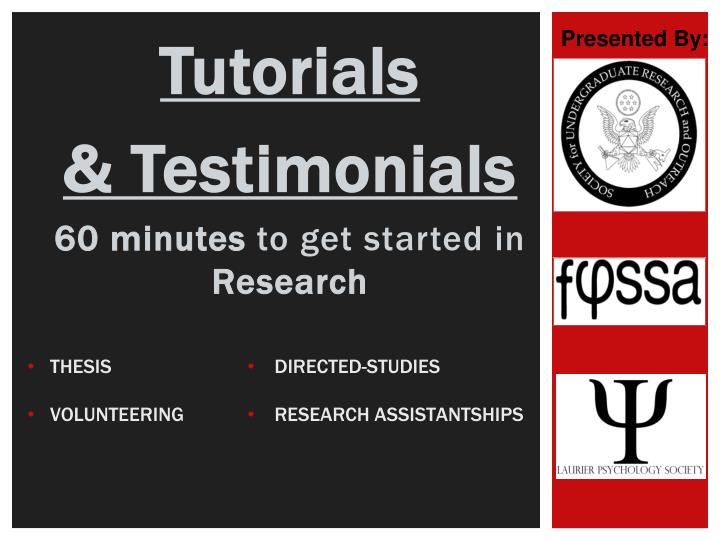 thesis testimonials Testimonials jack (ut): thank you so much for helping me proofread my dissertation erika (germany): thank for your support and assistance with my thesis.