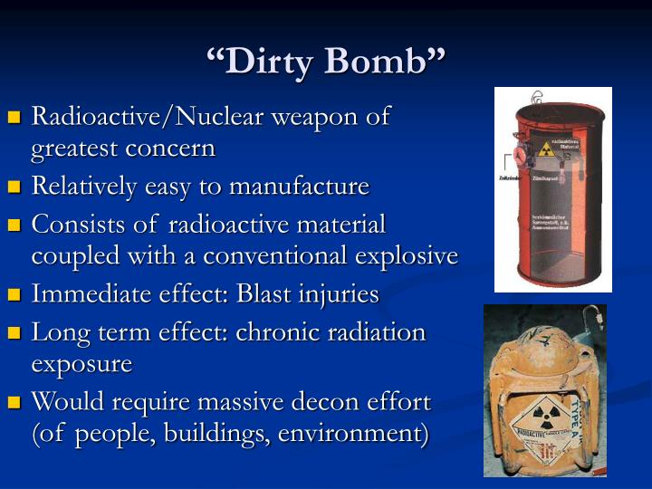 """Dirty Bomb"""
