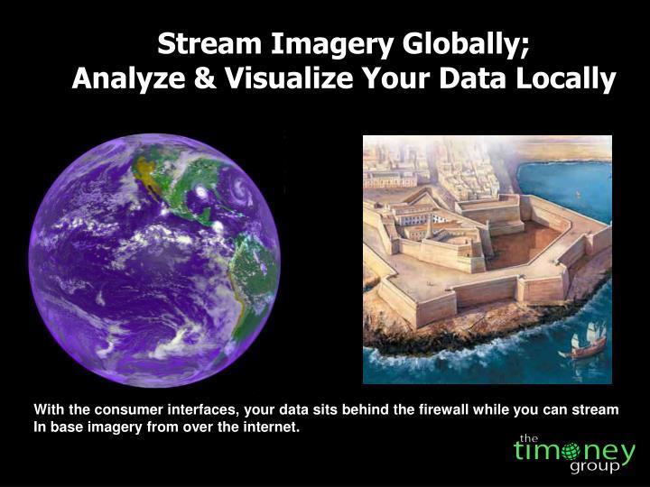 Stream Imagery Globally;