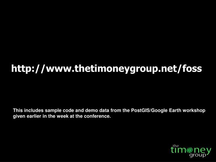 http://www.thetimoneygroup.net/foss