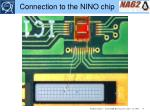 connection to the nino chip