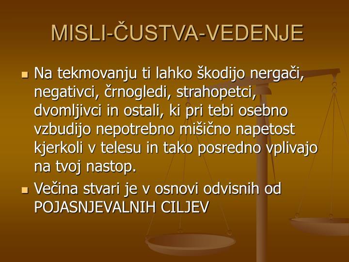 MISLI-ČUSTVA-VEDENJE