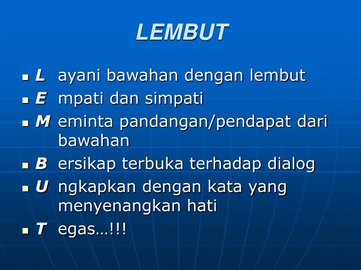 LEMBUT