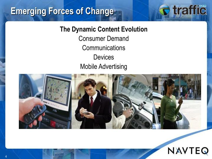 Emerging Forces of Change