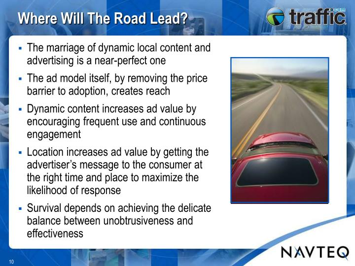 Where Will The Road Lead?