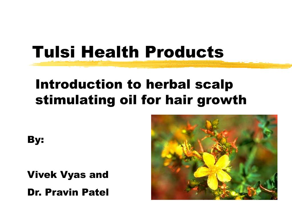 PPT - Tulsi Health Products PowerPoint Presentation, free download
