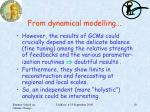 from dynamical modelling2