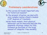 preliminary considerations1