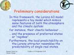 preliminary considerations2