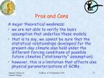 pros and cons1