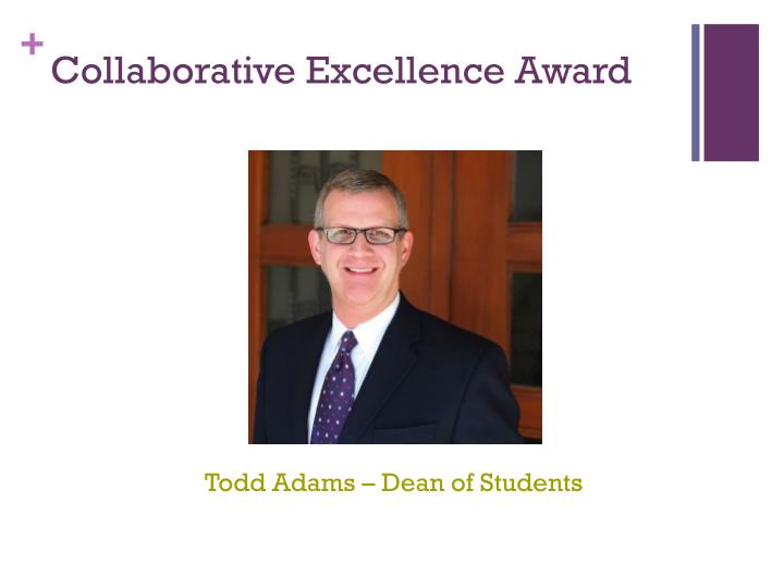 Collaborative Excellence Award