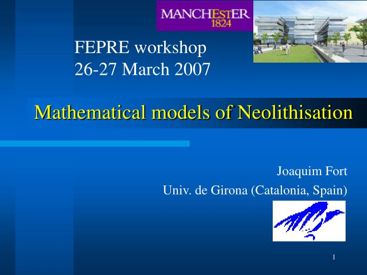 FEPRE workshop