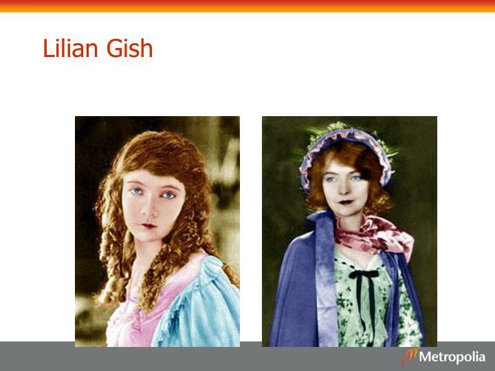 Lilian Gish
