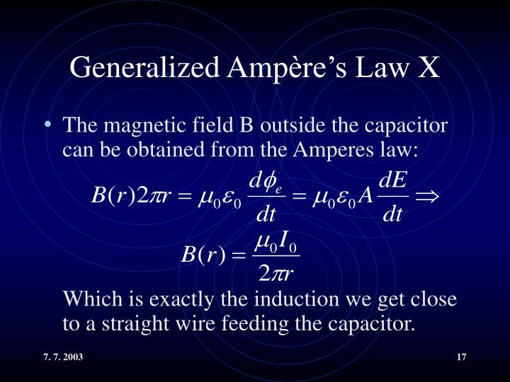 Generalized Amp