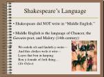 shakespeare s language1