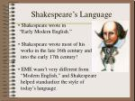 shakespeare s language2