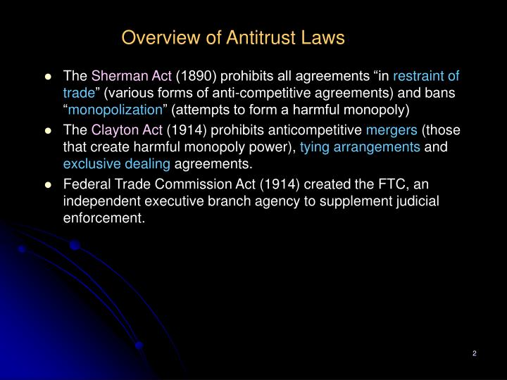 Ppt What Is Antitrust Law Powerpoint Presentation Id 5470252
