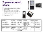 top model smart phone