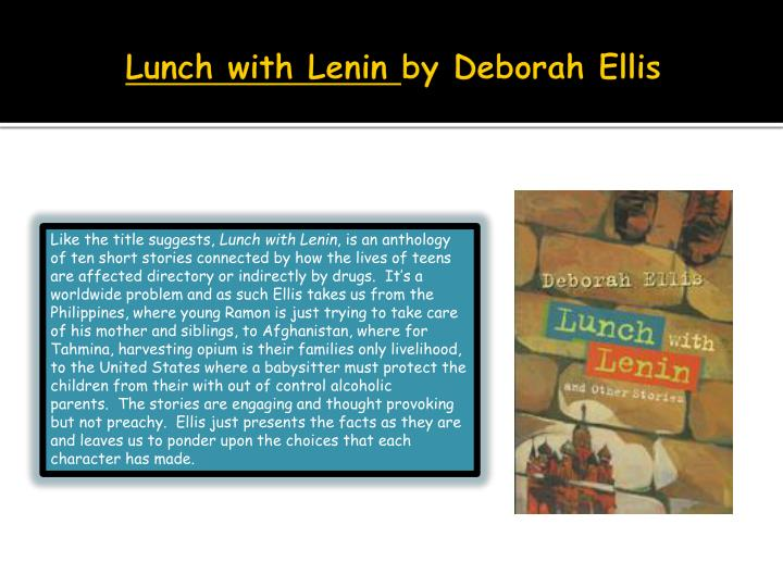 Lunch with Lenin