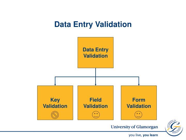 Data Entry Validation