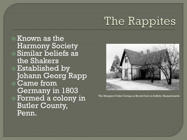 The Rappites