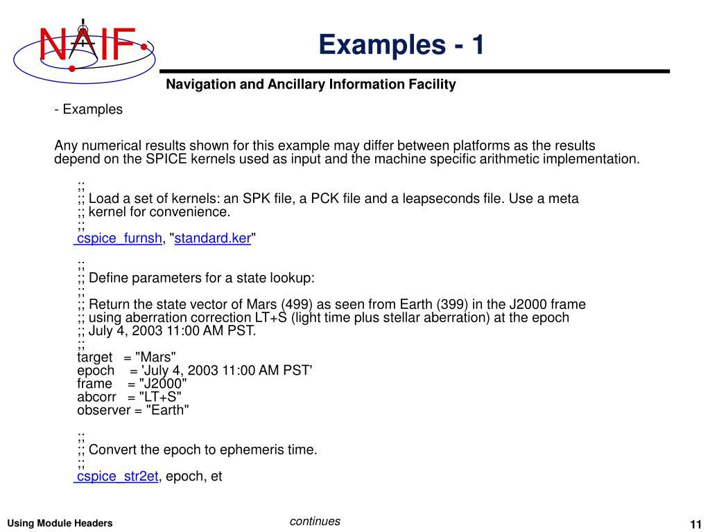 PPT - Using Module Headers PowerPoint Presentation - ID:5470836
