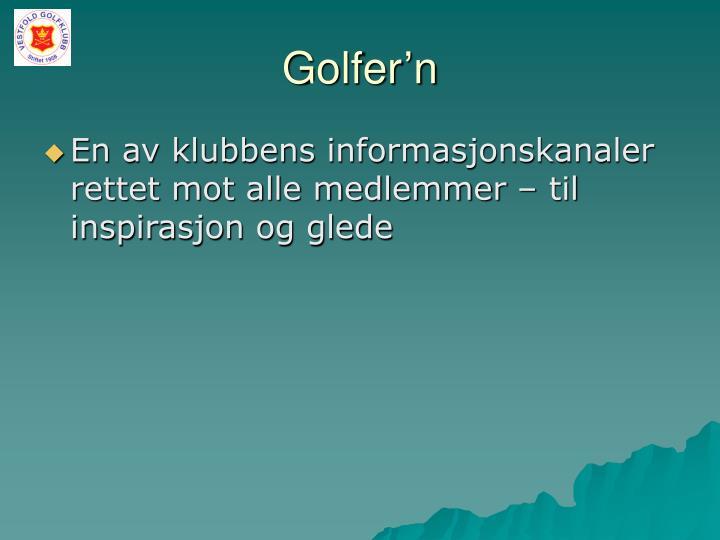 Golfer'n