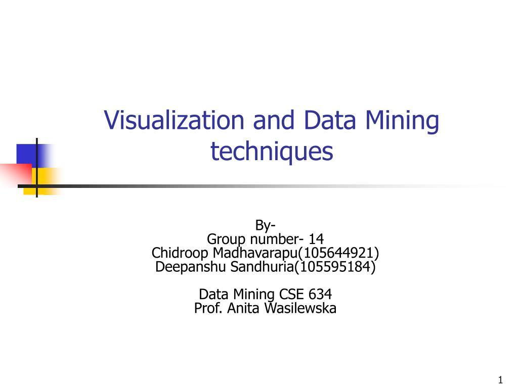 Statistics and data mining a b m shawkat ali 1 powerpoint.