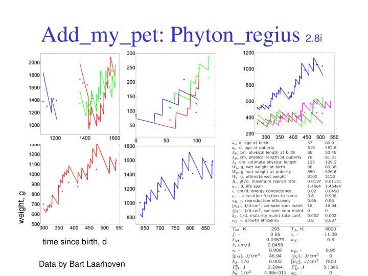 Add_my_pet: Phyton_regius